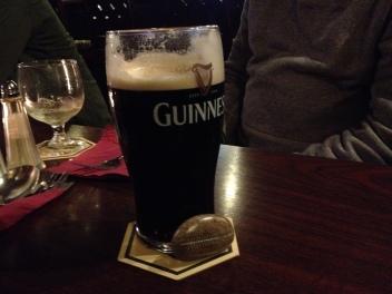 Jessie Stone at pub in Dublin, Ireland