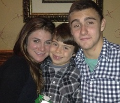 Celebrating Eli's 8th birthday