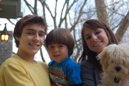 Pete, Eli, Jessie, and Morris.