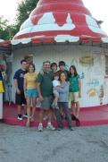Smith Family at Ice Cream Store