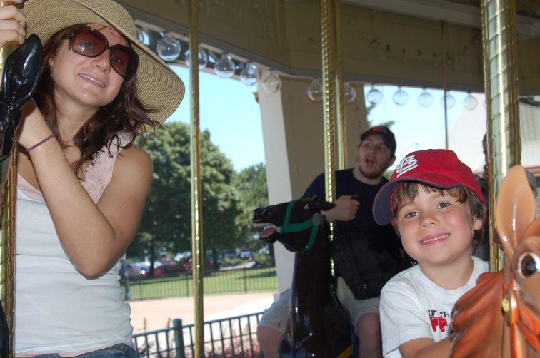 Jessie with brother, Eli