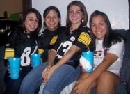 Jessie and sorority sisters, Amanda, Rachel and Ami