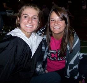 Jessie and sorority sister Dana