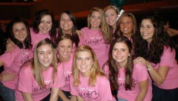 Jessie and Sigma Kappa pledge class