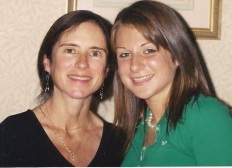 Jessie with her mom