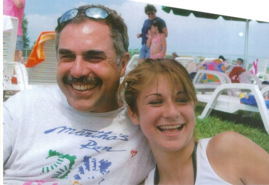 Jessie with her dad