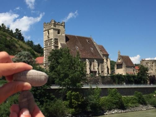 Jessie Stone by the Danube River