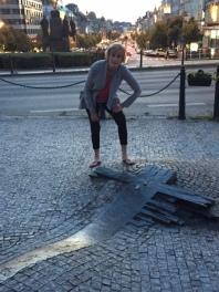 Jessie Stone in Prague